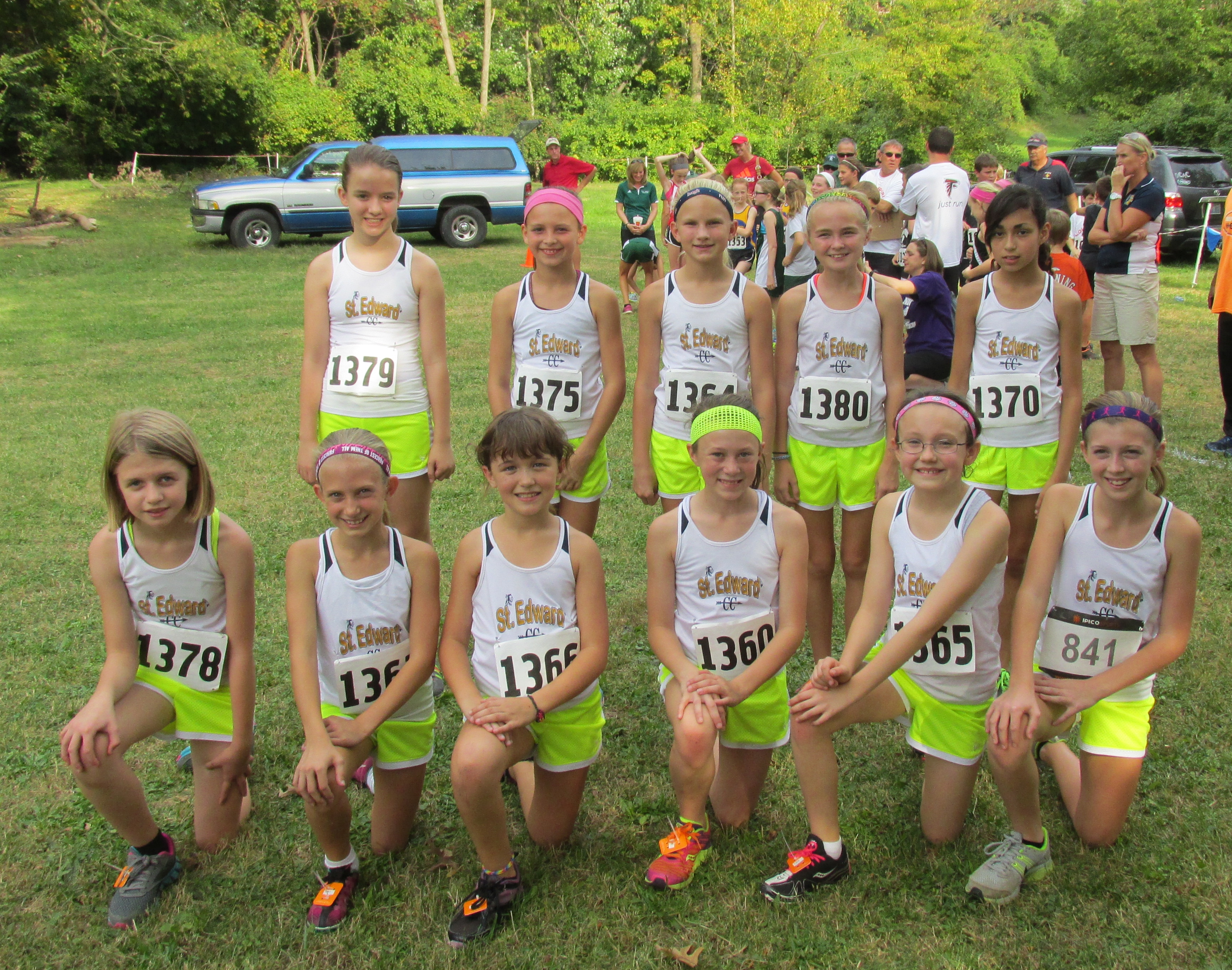 Congratulations to St Edward 5th & 6th grade girls Cross Country Team